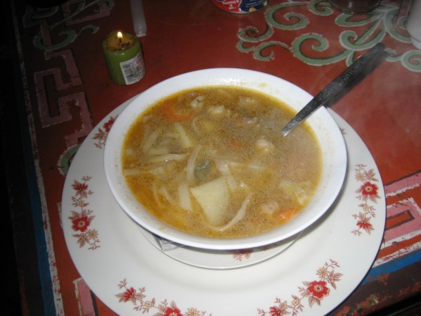 The food is one of the things to experience in Mongolia