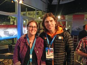 Meeting Salt Lake city gold medalist Gerard van Velde