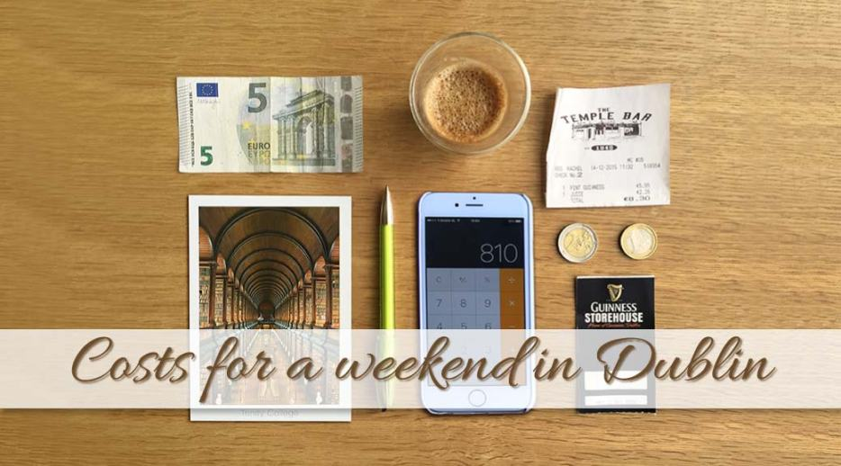 Going away on a city trip can be expensive. I watched my budget and here is the breakdown of my costs for a weekend in Dublin.