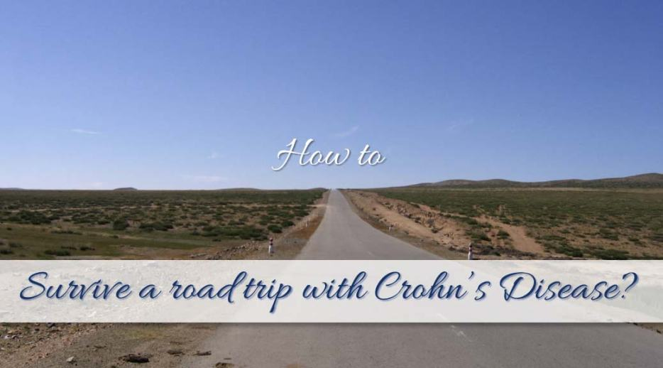 Survive a road trip with Crohn's disease