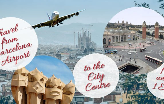 How to Travel from Barcelona Airport to City Center for 1 Euro?