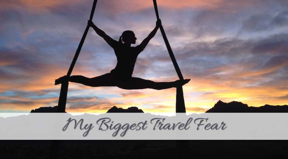 As a solo female traveller, we all want to come across as fearless travel divas, but what is your biggest travel fear? I share what scares me the most.