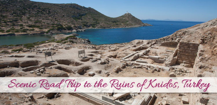 Scenic Road Trip to the Ruins of Knidos Turkey