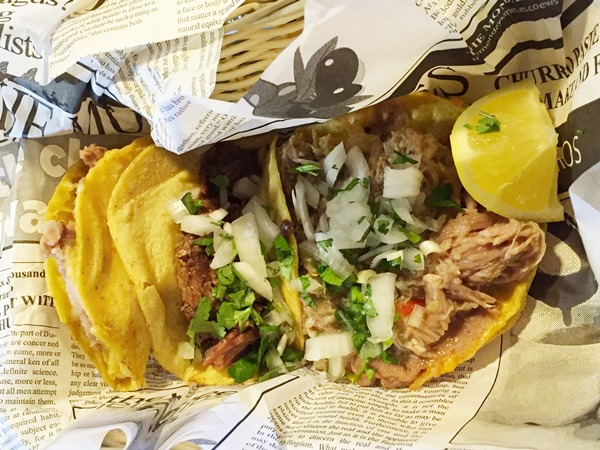 If you´re looking for a local food experience on a budget in Barcelona, consider Mexican food. Forget about tapas but try Tacos Tacos Barcelona.