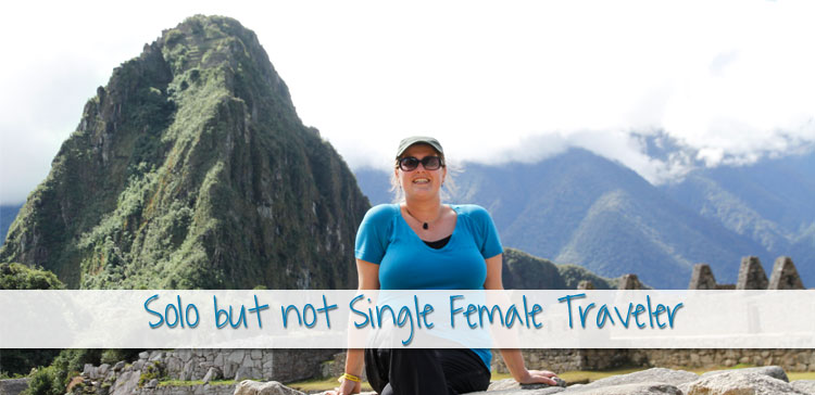 It seems general global conception that woman who travel solo must be single. What if you're a solo but not single female traveler? Here are my experiences