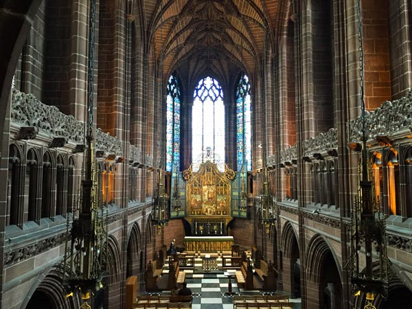 The skyline of Liverpool is dominated by the two Cathedrals of Liverpool linked by Hope Street. Read about my experiences and what to expect when visiting the Cathedral of Liverpool and the Metropolitan Cathedral of Liverpool.
