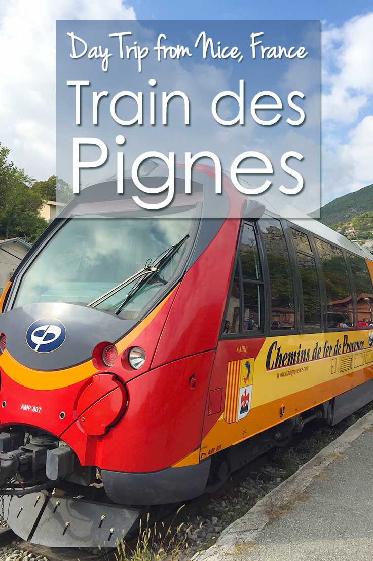 The train des Pignes is an amazing day trip from Nice, France. Take the steam train to explore the medieval town of Entrevaux or Digne-les-Bains on the scenic train ride into the heart of France. Read the practical guide on how to get tickets for the Train des Pignes and where to stop on your day trip from Nice.