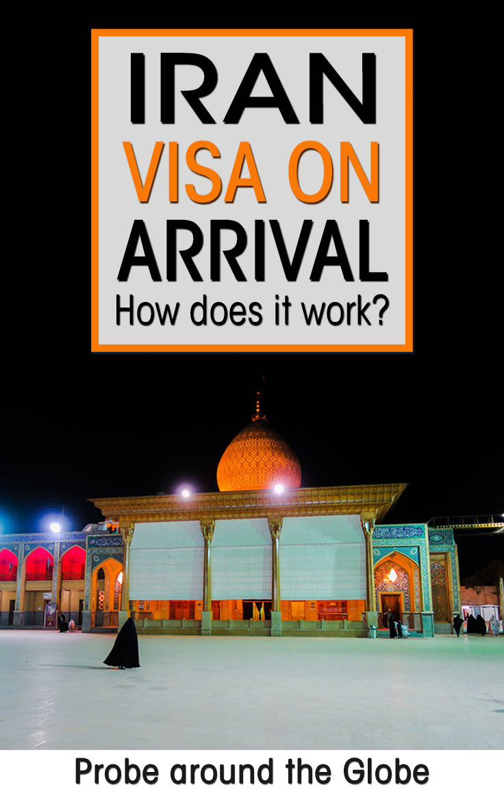 When you travel to Iran you need a tourist visa. You can now apply for your Iran visa on arrival at Tehran airport for 30 days. But how does it work? I explain step by step what you need and where to get it and tell you from my own experiences how you can get your Iran visa on arrival in Tehran.