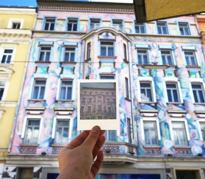 Explore Urban Vienna with a Polaroid Photo Tour