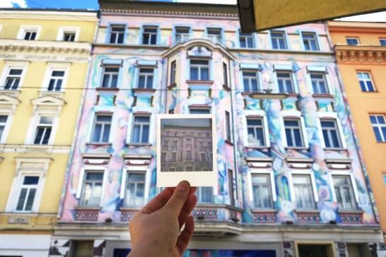 Explore Urban Vienna with a Polaroid Photo Tour