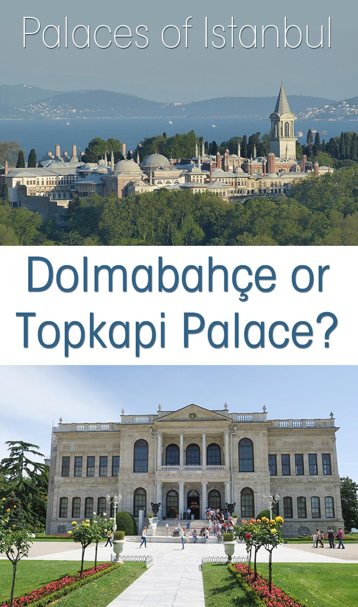 Do you travel to Istanbul, Turkey and wonder if you should visit the Dolmabahçe or Topkapi Palaces in Istanbul? I visited both and help you decide.