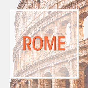 Travel to Rome, Italy