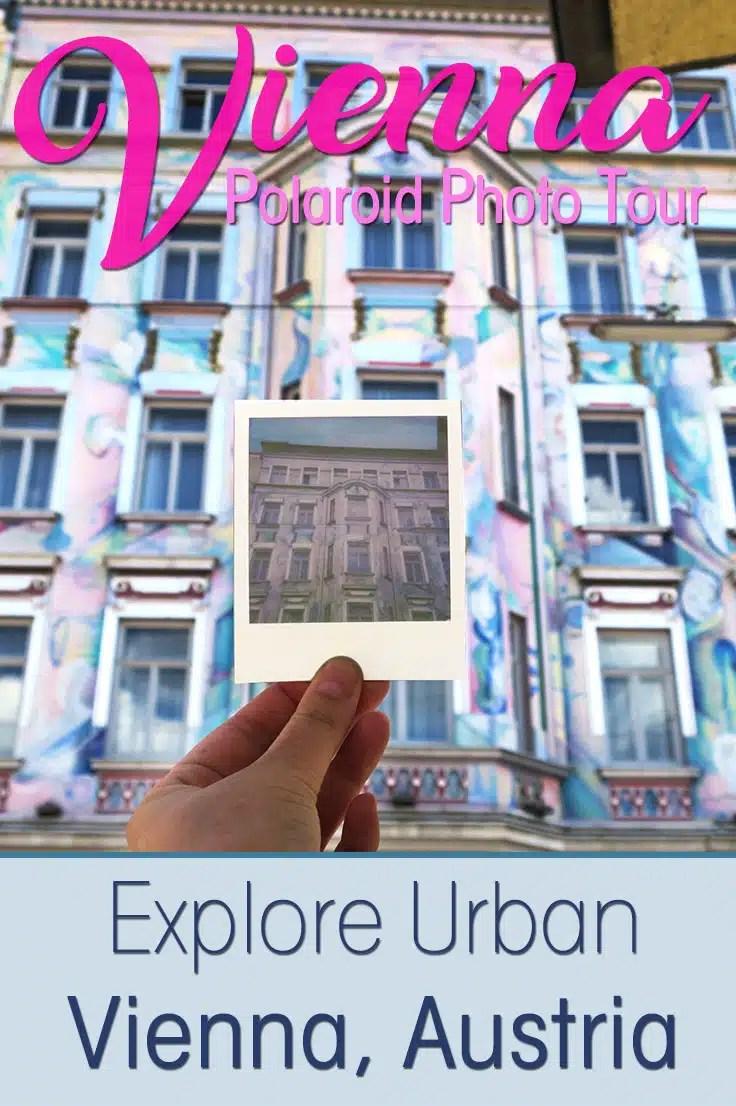 I joined the Vienna Urban Polaroid Photo Tour to discover the fun vibrant urban side of Austria's capital Vienna with a Polaroid photo camera!