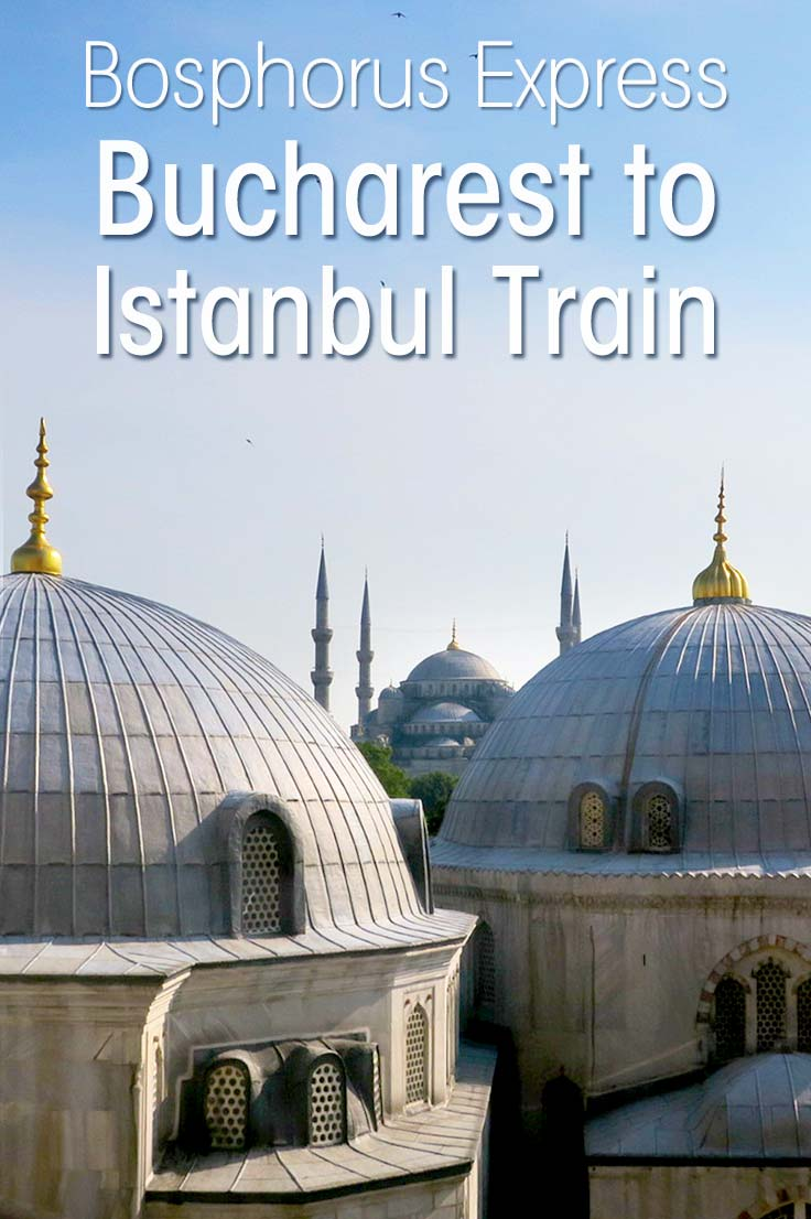 Read about my journey on the first Bosphorus Express, the Bucharest to Istanbul train and how I got interviewed about the ancient Orient Express train route. #train #Istanbul #orientexpress
