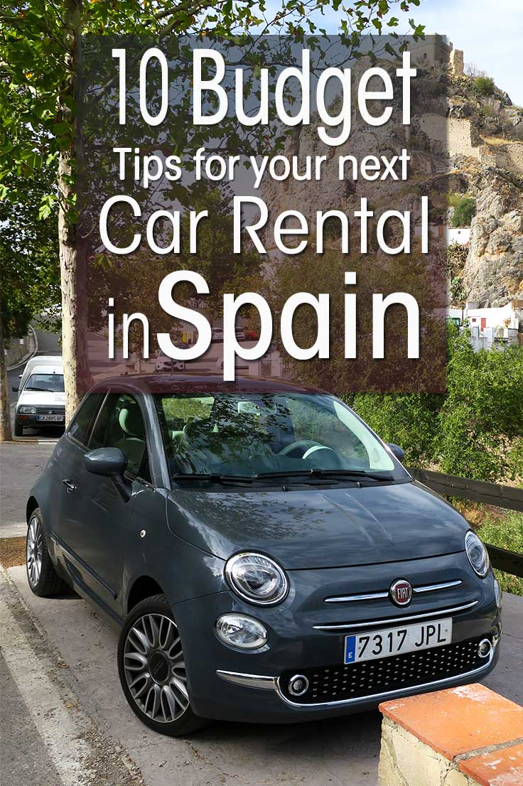 Experienced based guide on renting a car in Spain. Money saving tips on car hire in Spain and budget tips for renting a car and driving in Spain.