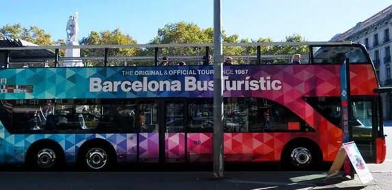 Tourist Bus Barcelona Hop On Hop Off Tour Bus Review