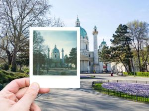Polaroid Photo Tour Vienna Austria