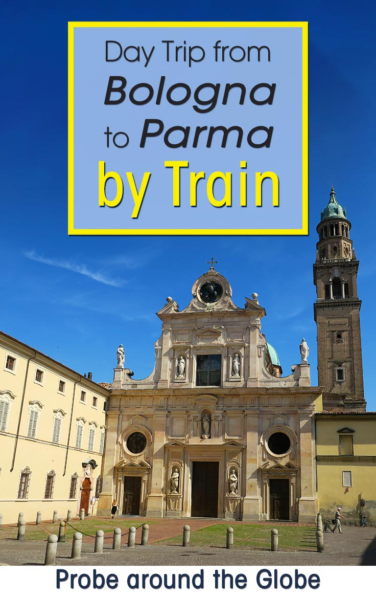 I took a day trip from Bologna to Parma by train. I'll show you how the train from Bologna to Parma works, what things to do in Parma Italy in one day. In the end, I have some other suggestions for day trips from Bologna in case you have more time to explore. Read more about this foodie filled day in Parma.