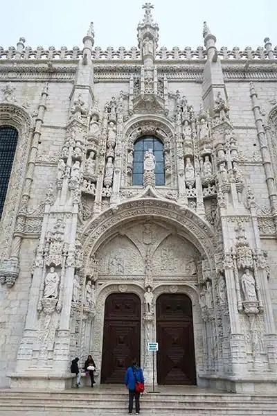 Monastery of St. Jerome (Mosteiro dos Jerónimos) Belem, Lisbon, Portugal