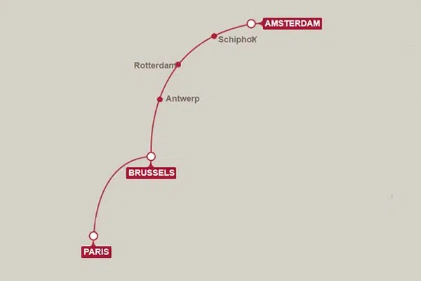 Travel to Paris by high speed train. I list 12 things that surprised me about the Thalys train from Amsterdam to Paris to help you prepare for the journey!