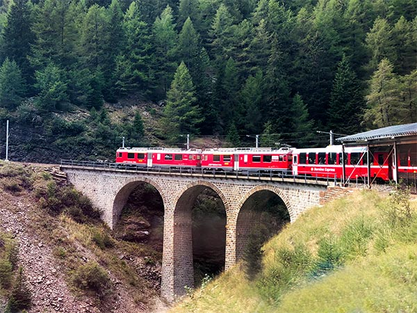 The Bernina Express is called the most beautiful train ride of Switzerland. Is it a clever tourist trap or does the Bernina Express train live up the hype?