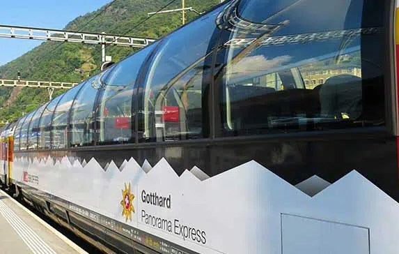 Gotthard Panorama Express: Luzern to Lugano by Scenic Boat and Train