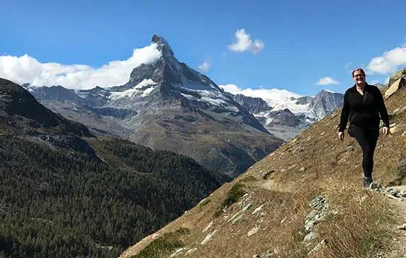 5-Lake Classic Scenic Hike (5-Seenweg) in Zermatt Switzerland