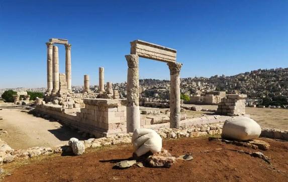 5 Roman Ruins in Jordan Story