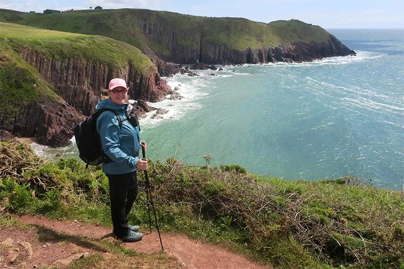 My experience hiking from Manorbier to Tenby on the Pembrokeshire Coast Path in Wales. Read practical tips for walking this section of the Wales Coast Path