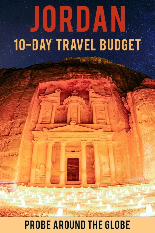 If you travel Jordan on a budget you might wonder: is Jordan expensive? I share my detailed 10-day budget breakdown to help you plan your Jordan budget.