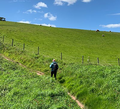 Manorbier to Bosherston on the Pembrokeshire Coast Path