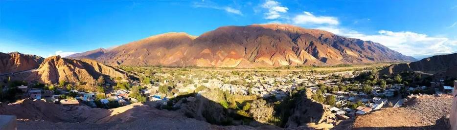 Off the beaten path travel guide to Quebrada de Humahuaca in Jujuy Argentina. Travel 3 days in Tilcara, Humahuaca, Purmamarca and Salinas Grandes Argentina
