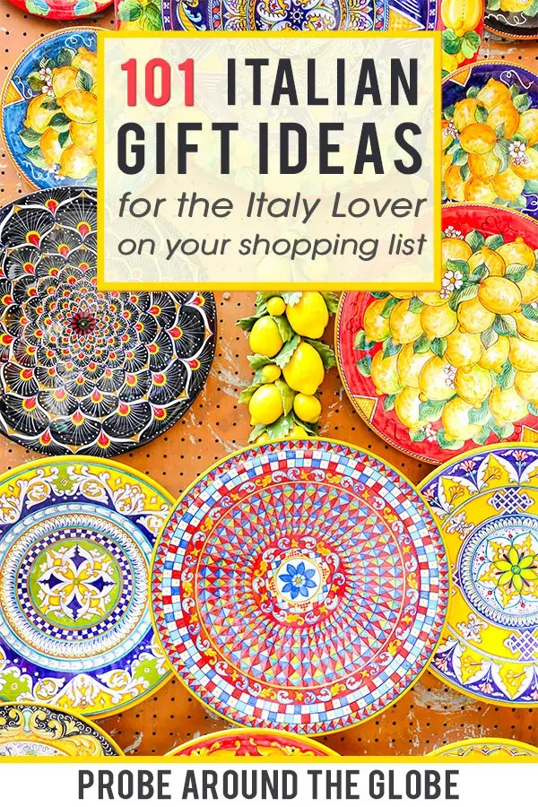 Do you need some Italian themed gift ideas for people who love Italy? I have you covered with this guide of the best Italian gift ideas for Italy lovers