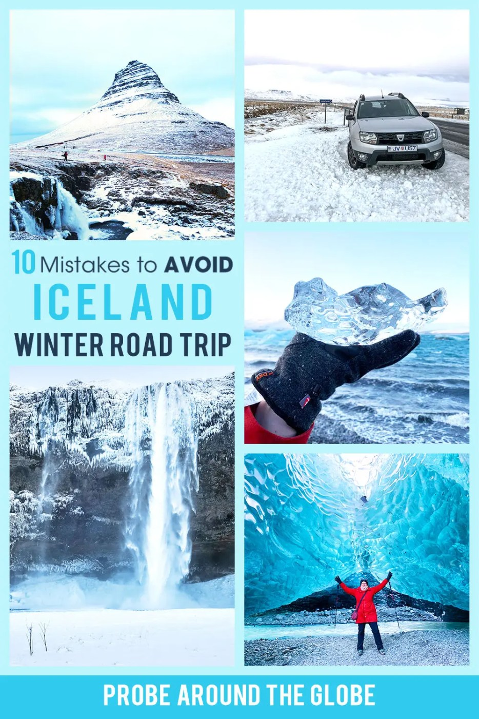 Read these 10 mistakes to avoid driving Iceland in winter to make sure you'll have a fun and safe Iceland winter road trip.