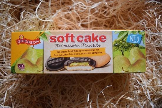 Brandnooz Box Oktober 2017 Soft Cake Kekse heimische Früchte Birne Probenqueen
