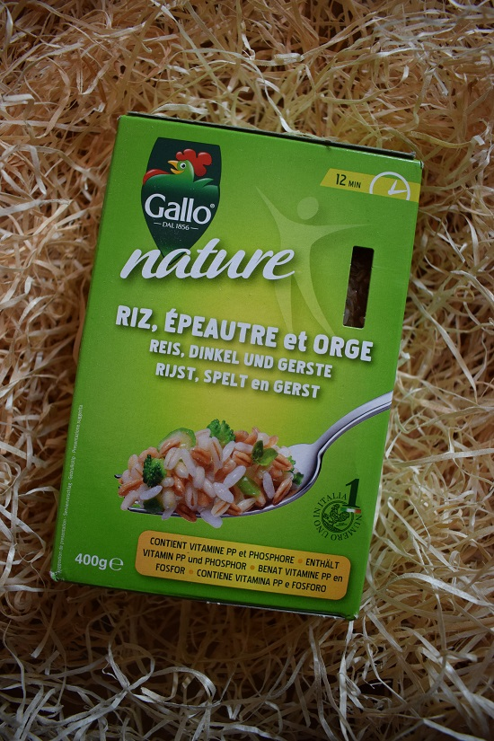 Brandnooz Genussbox Oktober 2017 Gallo Nature Reis Probenqueen