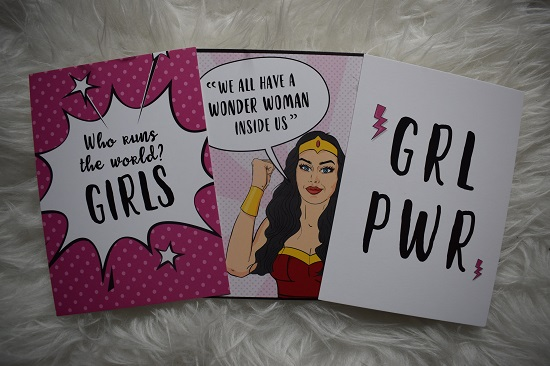 Pinkbox-Girlpower-Girl-Powerkarten Probenqueen