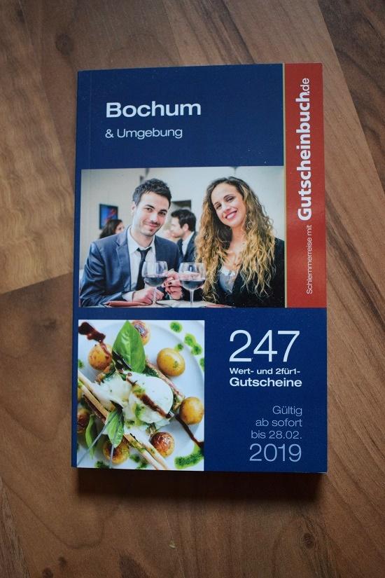 Gutscheinbuch Bochum & Umgebung Cover Probenqueen