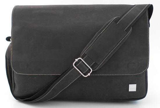 Businesstasche von Tikiwe schwarz Vorderansicht Probenqueen