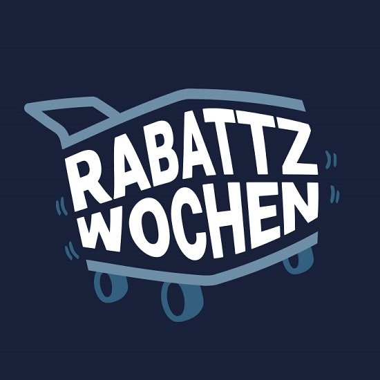 Die Rabattzwochen kommen Rabattzwochen-Logo Probenqueen