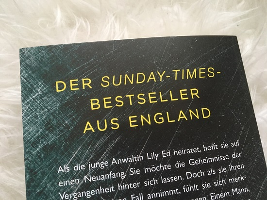 Lass mich los Zitat auf Rückseite des Buches von der Sunday-Times