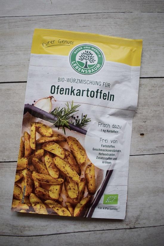 Genussbox April 2018 Lebensbaum Tütchen mit Würzmischung für Ofenkartoffeln Probenqueen
