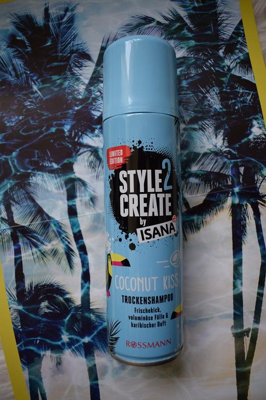 Schön für mich Box Juni 2018 Isana Style2Create Trockenshampoo www.probenqueen.de