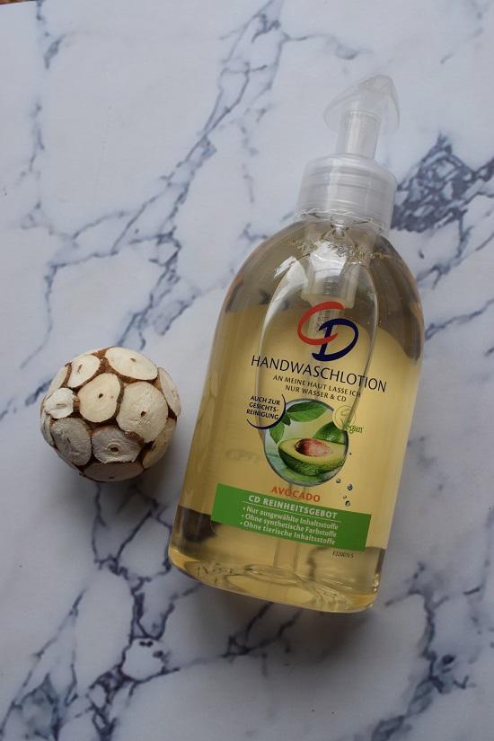 milde Handreinigung - Handwaschlotion Avocado CD Körperpflege Dosierspender