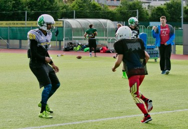 Salzburg Ducks, American Football, Probetraining, Salzburg, 20170607, (c)wildbild