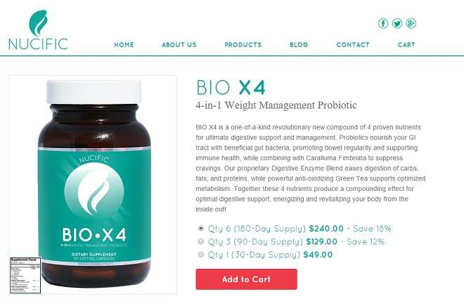 bio x4 by nucific