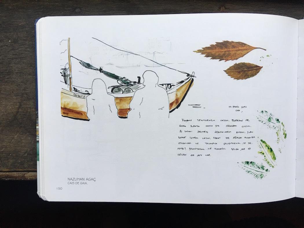 blog drawing watercolour porto oporto