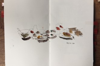 drawing urban sketchers blog watercolour