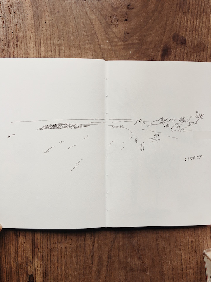 urban sketchers drawing sketchbook watercolour