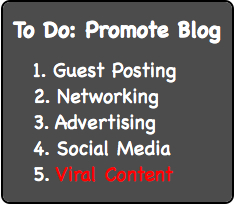 Blog-Promotion - Viral Content